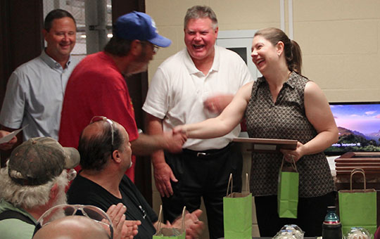 Grandivew Cabinetry recognizes employees