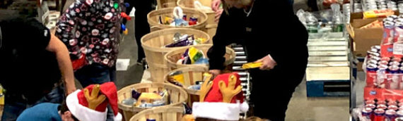 Grandview Gives Back with Christmas Gift Baskets